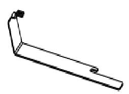 Terrace E4905-CP ПравостороннийАксессуары для ванной<br>Правосторонний полотенцедержатель Jacob Delafon Terrace E4905-CP. Полированный хром.<br>