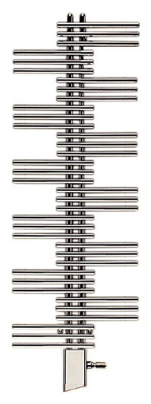 Yucca YSEC-130-050/YD ХромПолотенцесушители<br>Электрический полотенцесушитель Zehnder Yucca YSEC-130-050/YD Chrome однорядный. Цвет - хром. Электропатрон WIVAR с инфракрасным блоком дистанционного управления. Декоративный кожух для электропатрона WIVAR в цвет. Монтажный комплект в цвет полотенцесушителя.<br>