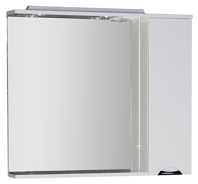 Глория 171593 1000 ммМебель для ванной<br>Зеркало Aquanet Глория 171593 100 см. Зеркало с полочкой, розеткой и подсветкой.<br>