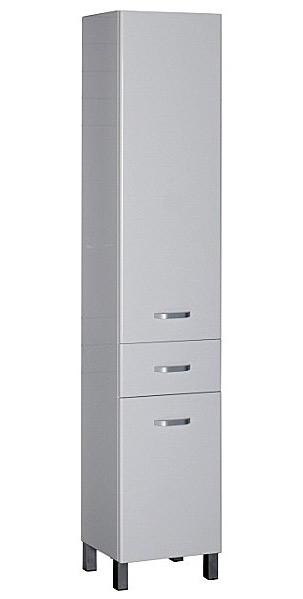 Глория 40 400 ммМебель для ванной<br>Шкаф-пенал Aquanet Глория 171598. Цвет белый.<br>