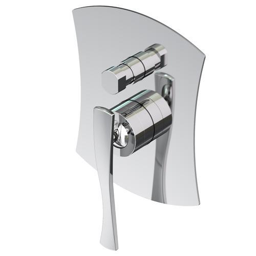 Icarus 4334 COСмесители<br>Смеситель Gattoni Icarus 4334 встраиваемый смеситель для ванны/душа на 2 выхода с автоматическим переключателем, в комплекте с внутренней частью.<br>
