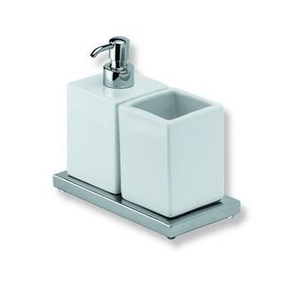 Xoni XO16D ХромАксессуары для ванной<br>IBB Xoni держатель для стакана с дозатором XO16D.<br>