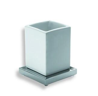 Xoni XO22 ХромАксессуары для ванной<br>IBB Xoni стакан с держателем настольный XO22. Цвет хром.<br>