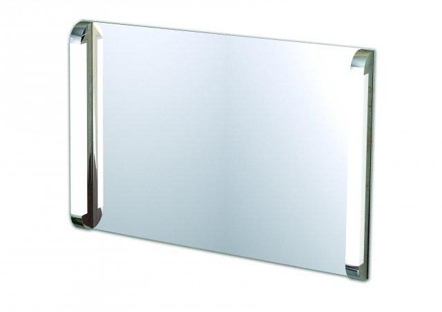 Specchio SP41   1000х690 ммАксессуары для ванной<br>IBB Specchio зеркало с 2-мя светильниками 100х69 см SP41.<br>
