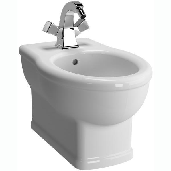 Efes 5803B003-0288 подвесное БелыйБиде<br>Биде Vitra Efes 5803B003-0288 подвесное.<br>Современный дизайн изделия прекрасно впишется в интерьер любой ванной комнаты.<br>Материал: санфарфор толщиной 18 мм, не впитывающий грязь.<br>Одно отверстие под смеситель.<br>Слив-перелив.<br>