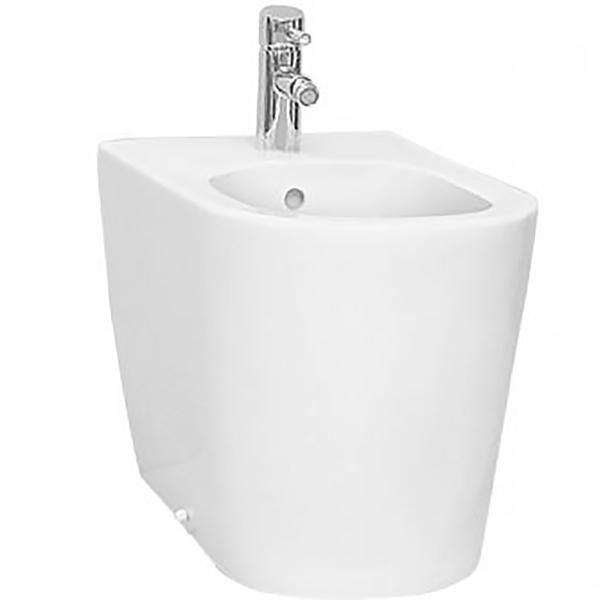 Nest 5143B003-0288 напольное БелыйБиде<br>Биде Vitra Nest 5143B003-0288 напольное.<br>Современный дизайн изделия прекрасно впишется в интерьер любой ванной комнаты.<br>Материал: санфарфор толщиной 18 мм, не впитывающий грязь.<br>Одно отверстие под смеситель.<br>Слив-перелив.<br>