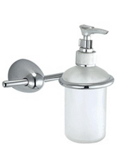 Allegro А75.38.00 ХромАксессуары для ванной<br>Allegro А75.38.00 дозатор  для жидкого мыла. <br>Монтаж на 2 отверстия.<br>Изготовлено из латуни, гальваническое покрытие, хром, комплект креплений (дюбель, саморез).<br>