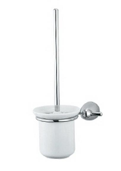 Allegro 75.37.00 ХромАксессуары для ванной<br>Allegro 75.37.00 держатель щётки настенный. Изготовлено из латуни,гальваническое покрытие, хром, комплект креплений (дюбель, саморез)<br>
