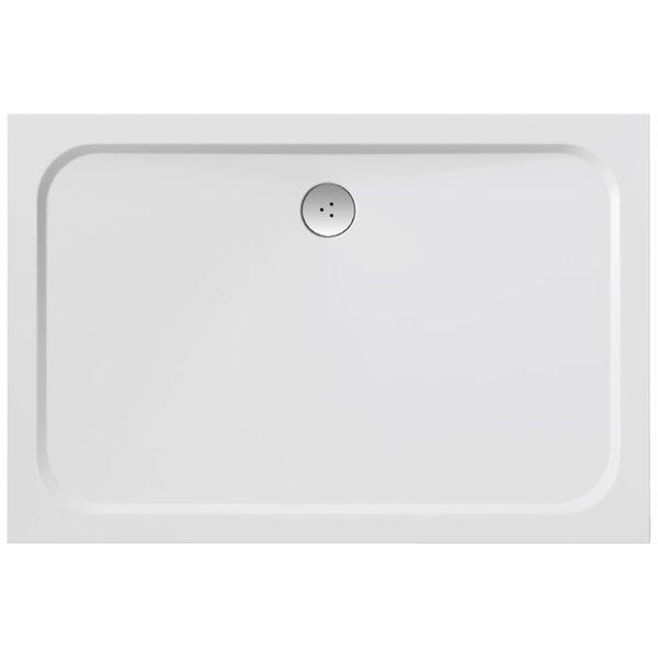 Gigant Pro Chrome 120 x 90 БелыйДушевые поддоны<br>Ravak Gigant Pro Chrome 1200x900 мм., поддон из литого мрамора, белый. Отверстие для сифона 90 мм. Поддон серии Galaxy PRO можно устанавливать в бетонный каркас (например, при установке поддона в пол).<br>