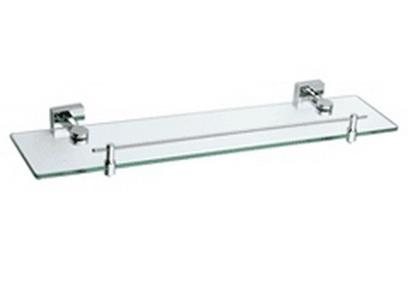 Angelo 81.33.00 ХромАксессуары для ванной<br>Angelo 81.33.00 полочка стеклянная под зеркало.<br>Изготовлено из латуни, ударопрочное закаленное стекло,содержание свинца 1,0-1,6 %.<br>Покрытие хром 0,25-0,35 микрометра. Комплект креплений (дюбель, саморез).<br>