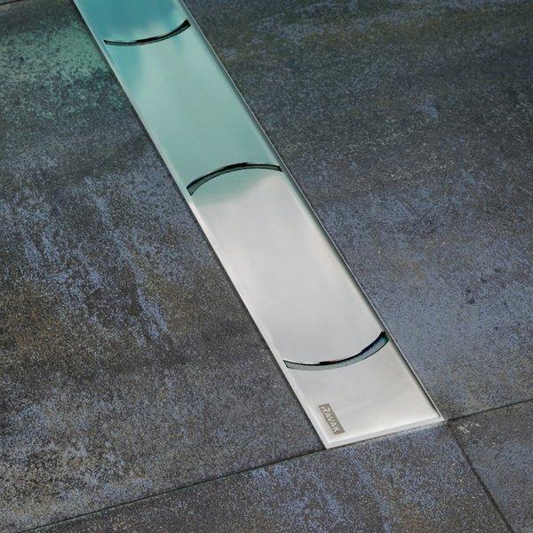 Chrome 950 ХромДушевые трапы и лотки<br>Ravak Chrome 950 X01428 Сливной канал изготовлен из нержавеющей стали.<br>