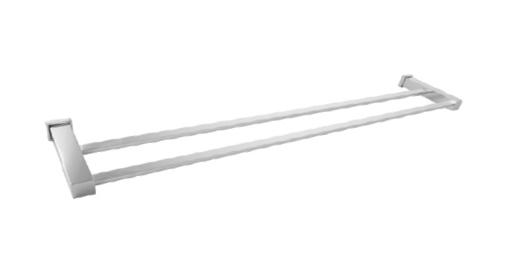 Ballo 23.48.00 ХромАксессуары для ванной<br>Ballo 23.48.00 полотенцедержатель двойной. Длина: 60 см. Монтаж на 2 отверстия. Изготовлено из латуни, гальваническое покрытие, хром, комплект креплений (дюбель, саморез).<br>