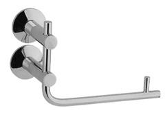 Quadro 21.31.00  ХромАксессуары для ванной<br>Quadro 21.31.00  бумагодержатель. Монтаж на 2 отверстия. Изготовлено из латуни, гальваническое покрытие, хром, комплект креплений (дюбель, саморез).<br>