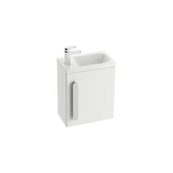 Chrome SD 400 БелыйМебель для ванной<br>Тумба под раковину SD Chrome 400 X000000538.<br>