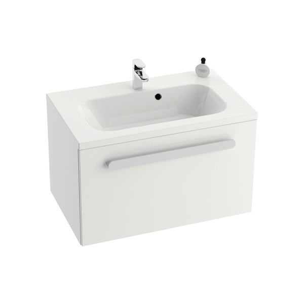 Chrome 600 БелаяМебель для ванной<br>Тумба под раковину SD Chrome 600 X000000530 подвесная.<br>