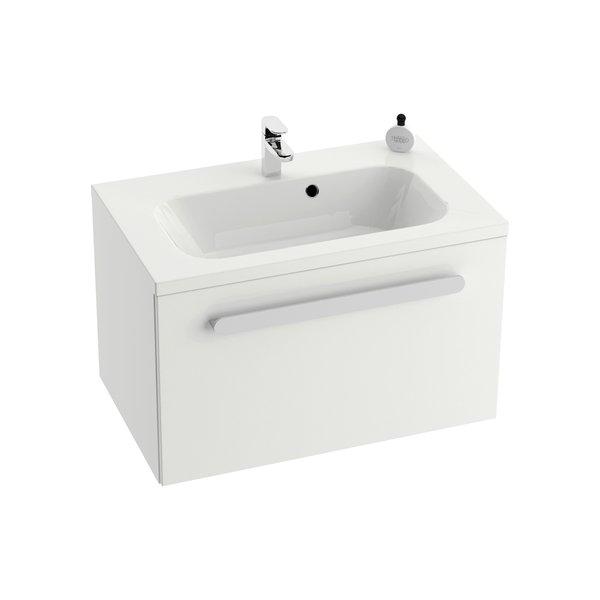 Тумба SD Chrome 700 БелаяМебель для ванной<br>Тумба под раковину SD Chrome 700 X000000532. Тумба устанавливается под умывальник Chrome 700. Цвет - белый.<br>