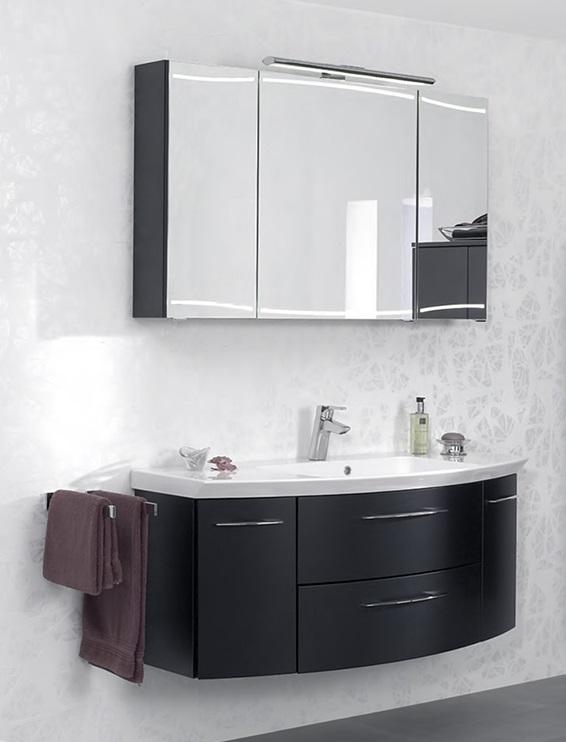 Cassca CS-WTUSL 04 1210 ммМебель для ванной<br>Pelipal Cassca CS-WTUSL 04 Comfort база под раковину с 2-я выдвижными ящиками и 2-я открывающимися дверцами. Цвет корпуса и фасада антрацит высокоглянцевый.<br>