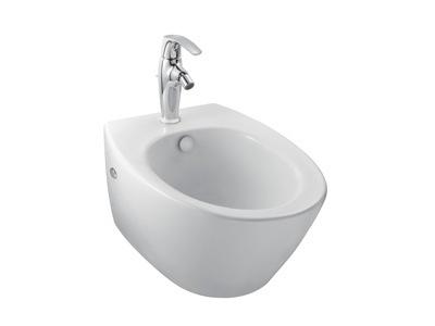 Presquile E4441-00 БелоеБиде<br>Jacob Delafon Presquile  E4441-00 Биде подвесное. Изготовлено из керамики. Поверхность: белая. На биде имеется одно отверстие под смеситель.<br>Хромированная заглушка для перелива.<br>