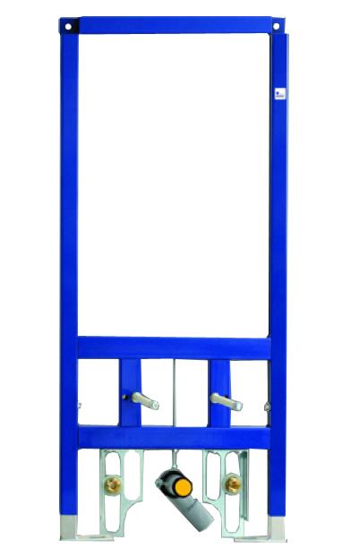 90.615.00.T000 Для подвесного бидеИнсталляции<br>Монтажная система Sanit 995 для подвесного биде, без кронштейнов крепления. Диапазон регулирования по глубине от передней кромки элемента - 135 – 205 мм.<br>