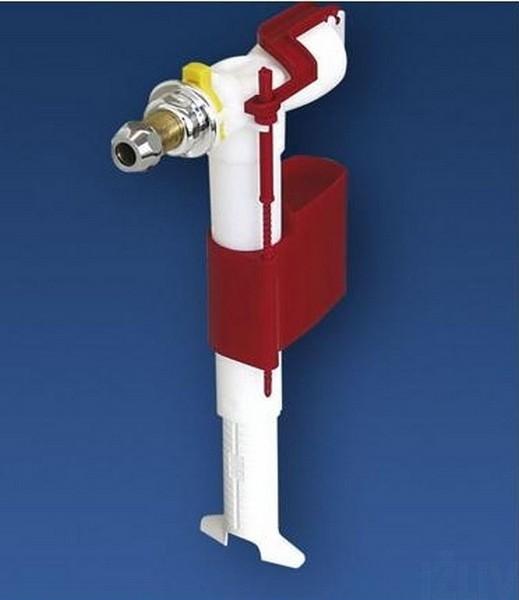 25.004.00.0000 3/8x40 ммКомплектующие<br>Sanit 510 универсальный наполнительный клапан G 3/8x40 мм. Боковое подключение, латунный штуцер 40 мм.<br>