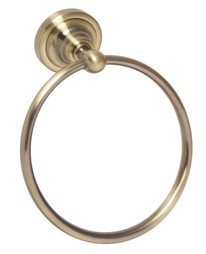 Retro bronze 144104067 БронзаАксессуары для ванной<br>Bemeta Retro bronze 144104067 круглый держатель для полотенца.  Размеры: 60х310 мм.<br>