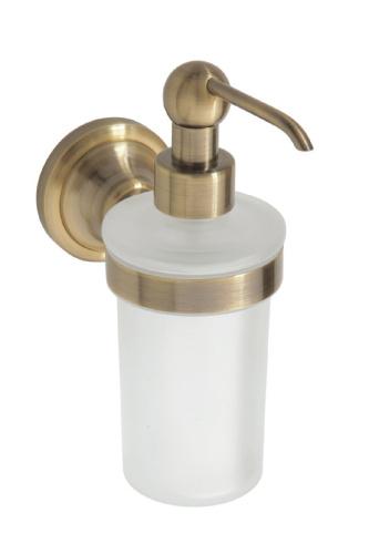 Retro bronze 144109017  БронзаАксессуары для ванной<br>Bemeta Retro bronze 144109017  дозатор жидкого мыла.<br>