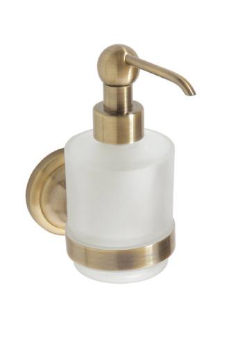 Retro bronze  144109107 БронзаАксессуары для ванной<br>Bemeta Retro bronze  144109107 мини-дозатор жидкого мыла.<br>