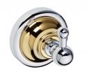 Retro Gold and Сhrom  144206018 Золото хромАксессуары для ванной<br>Bemeta Retro Gold and Сhrom  144206018 крючок для полотенца.<br>