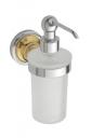Retro Gold and Сhrom 144209018 Золото хромАксессуары для ванной<br>Bemeta Retro Gold and Сhrom 144209018 дозатор жидкого мыла.<br>