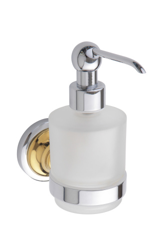 Retro Gold and Сhrom 144209108 Золото хромАксессуары для ванной<br>Bemeta Retro Gold and Сhrom 144209108 мини-дозатор жидкого мыла.<br>