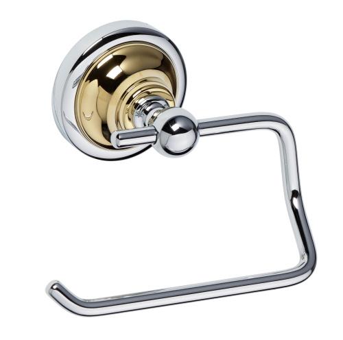 Retro Gold and Сhrom 144212028 Золото хромАксессуары для ванной<br>Bemeta Retro Gold and Сhrom 144212028  держатель туалетной бумаги.<br>