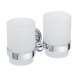 Retro chrom 144310022 ХромАксессуары для ванной<br>Bemeta   Retro chrom 144310022 двойной держатель стакана для ванной комнаты.<br>