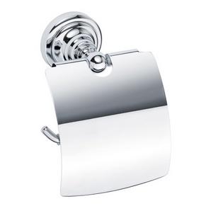 Retro chrom 144312012 ХромАксессуары для ванной<br>Bemeta   Retro chrom 144312012  держатель для туалетной бумаги с крышкой.<br>