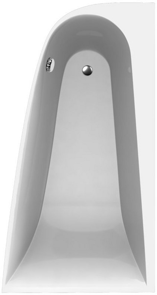 Boomerang 1800х1000  ЛеваяВанны<br>Vayer Boomerang 1800х1000L асимметричная акриловая ванна.<br>