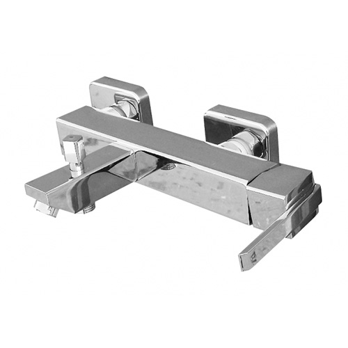 Loira LR554.5 Ручка 2 металлСмесители<br>Rav Slezak Loira LR154.5 cмеситель для ванны с функцией автоматического переключения на душ.<br>