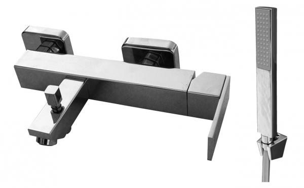 Loira LR554.5/1 Ручка 1 хромСмесители<br>Rav Slezak Loira LR554.5/1 смеситель для душа. В комплекте - шланг для душа (150 см). Стабильный держатель.<br>