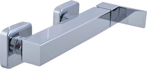 Loira LR580.5/1 Ручка 2 металлСмесители<br>Rav Slezak Loira LR180.5/1 смеситель для душа. В комплекте - шланг для душа (150 см). Стабильный держатель.<br>