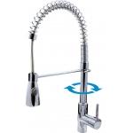Seina SE917.5 ХромСмесители<br>Rav Slezak Seina SE917.5 смеситель для кухни с душем на пружине.<br>