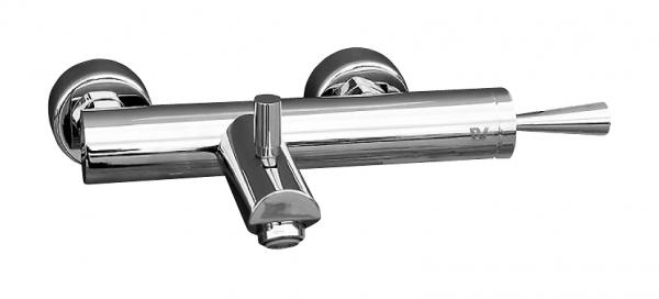 Seina Joystic SE754.5 ХромСмесители<br>Rav Slezak Seina Joystic SE754.5 смеситель для ванны с автоматическим переключением. Монтаж на стену.<br>