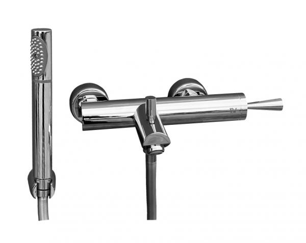 Seina Joystic  SE754.5/1 ХромСмесители<br>Rav Slezak Seina Joystic  SE754.5/1 смеситель для ванны с автоматическим переключением. <br>С  душем в комплекте. Установка на стену.<br>