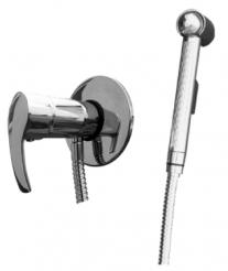 Rio R147 ХромСмесители<br>Rav Slezak Rio R147 смеситель для биде с душем в комплекте. Скрытый монтаж.<br>