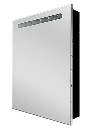Victoria Nord 60 ZRU9000099 ПравыйМебель для ванной<br>Зеркальный шкаф Victoria Nord Black Edition 60 ZRU9000099 с подсветкой правый. Цвет черный.<br>