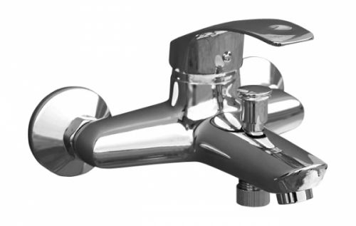 Mississippi  MS054.5 ХромСмесители<br>Rav Slezak Mississippi  MS054.5 смеситель для ванны  с автоматическим переключением. Установка на стену.<br>