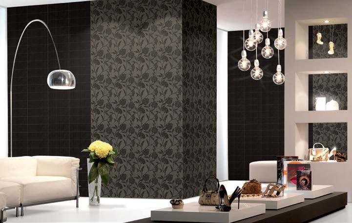 Керамическая плитка Vallelunga Lirica Bordeaux Dec. Cornice 10x30 декор