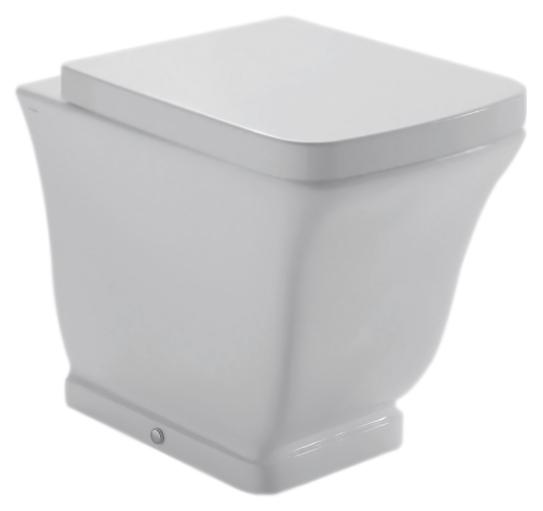 Relais RE001 bianco lucidoУнитазы<br>Унитаз приставной Globo Relais RE001 белый глянцевый, универсальный выпуск. Дизайн изделия коллекции Relais выражает виденье современной ванной комнаты в полной гармонии функциональности и эстетики. Унитаз Relais сохраняет стиль прошлого, и в тоже время футуристически интерпретирован, сопровождается чистыми и строгими формами, навевая желание простоты и ясности. В комплекте поставки: чаша унитаза и комплект креплений к полу.<br>