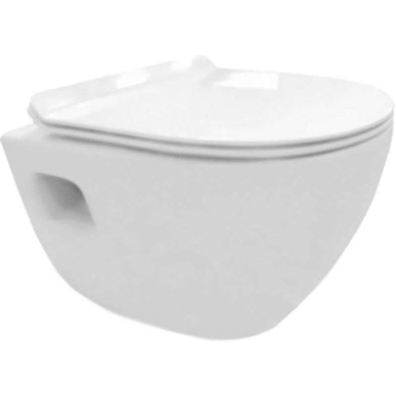 Sfera-T BB502B подвесной без сиденьяУнитазы<br>Унитаз BelBagno Sfera-T BB502B подвесной.<br>Дизайн с округлыми, мягкими, изящными линиями, гармонично впишется в различные интерьеры ванных комнат.<br>Материал: санфаянс.<br>Цвет: белый.<br>Особенности:<br>Слив по всему периметру чаши.<br>Горизонтальный выпуск.<br>
