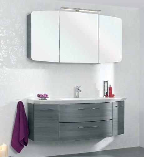 Cassca CS-WTUSL 06 1410 ммМебель для ванной<br>Pelipal Cassca CS-WTUSL 06 Comfort тумба под раковину с 2-я выдвижными ящиками и 2-я открывающимися дверцами. Цвет корпуса и фасада  графит структура.<br>