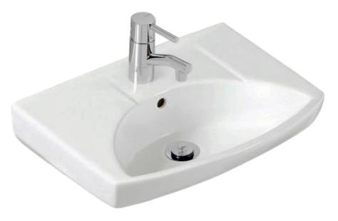Sign 73520 БелаяРаковины<br>Раковина керамическая Ifo Sign 73520 подвесная с одним отверстием под смеситель и отверстием для перелива.<br>