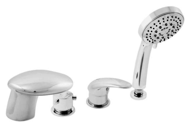 Dunaj D471.5P золотойСмесители<br>Смеситель на борт ванны Rav Slezak Dunaj D471.5PZ монолитный, с душевым гарнитуром, изготовлен из высококачественной латуни, которая исключает какую-либо коррозию. Латунные рукоятки. Качественный керамический картридж 40 мм Kerox, производство Венгрия, гарантирует долговечность и мягкий поток воды. Керамический переключатель душ/излив. Пластиковый шланг с пружиной, которая обеспечивает лёгкое возвращение шланга в держатель. Длина шланга 2000 мм. Пластиковая душевая лейка с пятью режимами, с антикальк резиновыми насадками. Цена указана за смеситель, шланг, душевую лейку и комплект крепления. Все остальное приобретается дополнительно.<br>