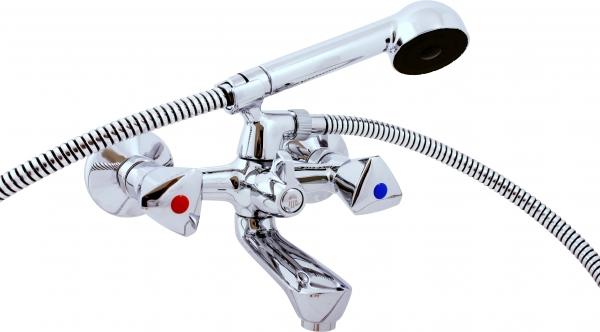 Morava Eco  M054.5/1 Ручка 2Смесители<br>Rav Slezak Morava Eco M254.5/1 смеситель для ванны с душем. Керамический переключатель. Установка на стену.<br>